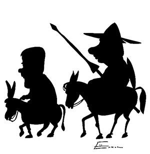 (2010, S. Jołkin, Don Kichot i Sancho Pansa)