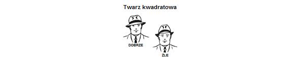 3. twarz kwadratowa