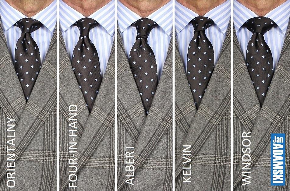 krawat wezel