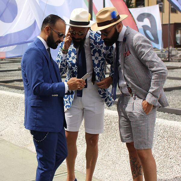 letni garnitur krotkie spodnie